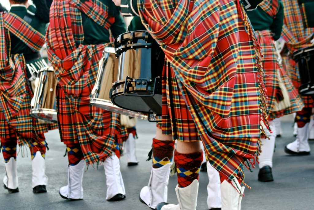 Pipe Band with thanks to Melody Ayres Griffiths