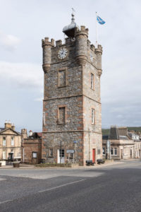 Dufftown Clock Tower the iconic starting point for many local walks
