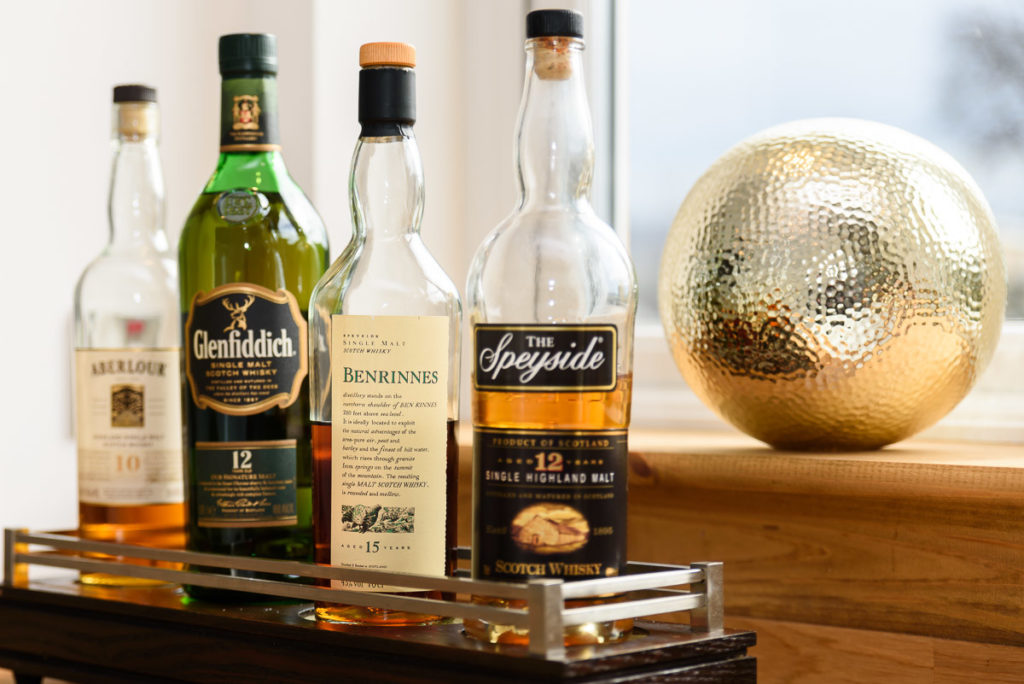 Speyside, home to more than 50% of Scotland's operational distilleries
