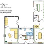 Floor Plan Couthy Harbour House - ground floor