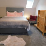 Bedroom Port Couthy Harbour House Findochty self catering private home, king guest bedroom