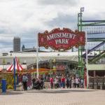 Codona's Amusement Park on Aberdeen Beach Esplanade