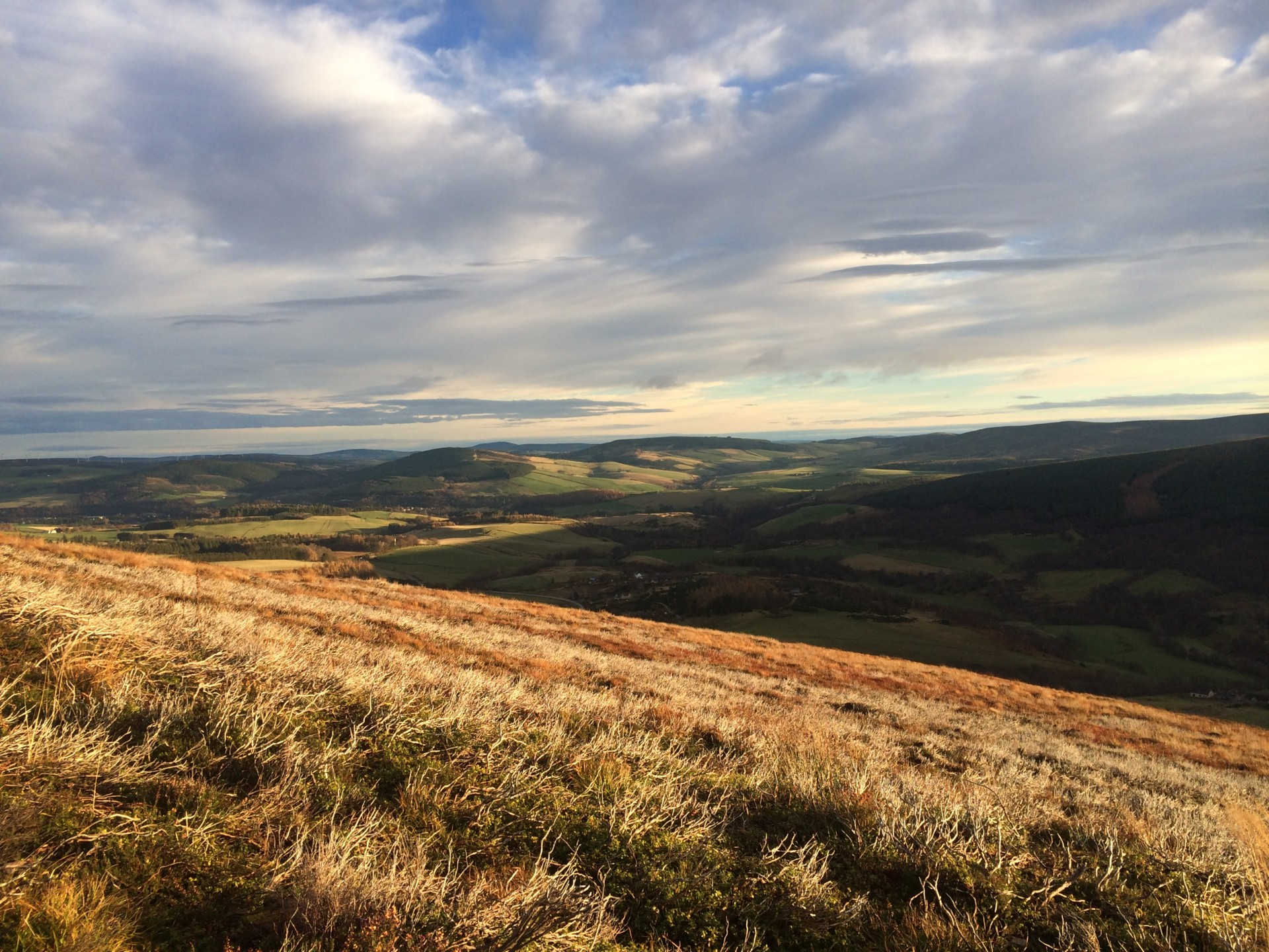 Glenrinnes wide open countryside - Speyside Cottages - self catering holidays homes