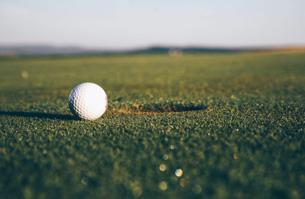 Golf with thanks to Markus Spiske